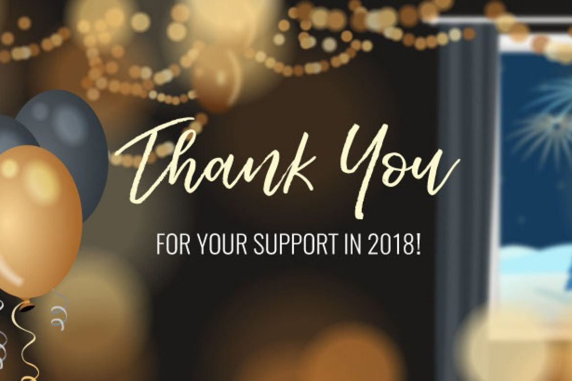 Here's to a Wonderful 2019!